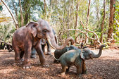 Elephant model in Jampasak, Laos — Foto Stock