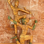 Ramayana statue — Stock Photo #41938693