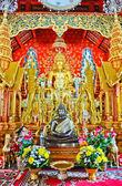 Buddha in Church at Chiang Mai, Thailand — Stock Photo