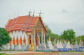 Underconstruction of Thai Church — 图库照片