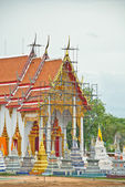 Underconstruction of Thai Church — Стоковое фото