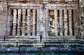 Craved stone at Wat Phu Si at Jam pa sak, Laos — Stock Photo