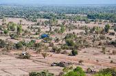 Village around Wat Phu Si at Jam pa sak, Laos — Stock Photo