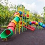 The colorful plaything in Benjasiri Park, Bangkok, Thailand — Stock Photo #50581299