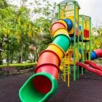 The colorful plaything in Benjasiri Park, Bangkok, Thailand — Stock Photo #50581419