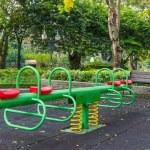 The colorful plaything in Benjasiri Park, Bangkok — Stock Photo #50581645