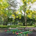The colorful plaything in Benjasiri Park, Bangkok — Stock Photo #50581931