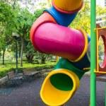The colorful plaything in Benjasiri Park, Bangkok, Thailand — Stock Photo #51006543