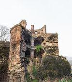 The ruin tower of Heidelberg castle in Heidelberg — Stock Photo