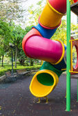 The colorful plaything in Benjasiri Park, Bangkok, Thailand — Stock Photo