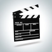 Film Clapboard — Stock Photo