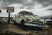 Retro auto — Stockfoto