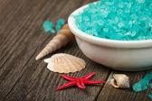 海星温泉盐 — 图库照片