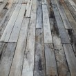 Image of old grunge wood panels — Stock Photo