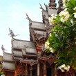 Sanctuary of Truth in Pattaya, Thailand. — Stock Photo #29724191