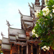 Sanctuary of Truth in Pattaya, Thailand. — Stock Photo