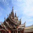 Stock Photo: Sanctuary of Truth in Pattaya, Thailand.