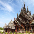 Sanctuary of Truth in Pattaya, Thailand. — Stock Photo #29724371