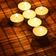 Candle cross — Stock Photo #29725529