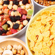 Mixed nut and dried fruit — Stock Photo