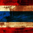 Grunge Thailand flag — Stock Photo