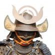 Image of samurai armour isolated on white — Stock Photo