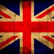 Stock Photo: Grunge Great Britain flag