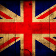 Grunge Great Britain flag — Stock Photo
