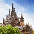 Sanctuary of Truth in Pattaya, Thailand. — Stock Photo #29726627
