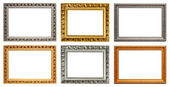Set of vintage art frame. Horizontal — Stockfoto