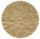 Image of vintege label on white — Stock Photo