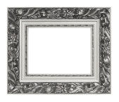 Picture of silver vintage art frame — Foto Stock