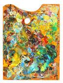 Image of artist's palette — Stockfoto