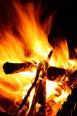 Image of campfire — Stock Photo