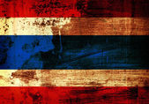 Grunge Thailand flag — Stock Photo