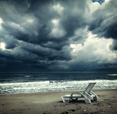 Ocean storm approaching — Stock Photo