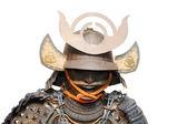 Image de l'armure de samouraï isolé sur blanc — Photo
