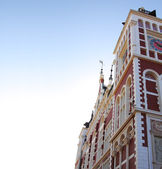 Amsterdam'da bina resim — Stok fotoğraf