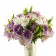 Wedding rose bouquet — Stock Photo