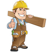 Carpenter — Stock Vector
