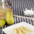 Cooked pears — Stock Photo
