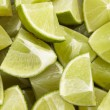 Stock Photo: Limes eighth
