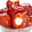 Stock Photo: Stuffed cherry tomatoes