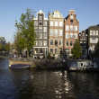 Amsterdam, Netherlands - Old houses — ストック写真