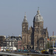 Amsterdam, Netherlands - Basilica St. Nicholas — Stock Photo