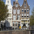Amsterdam, Netherlands - Old houses — Stock Photo