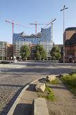 Hamburg (Germany) - Elbe philharmonic hall — Stock Photo