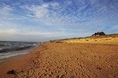 Sylt (Germany) - Rantum beach at sunset — Stock Photo