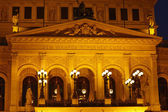 Frankfurt - Old opera house — Stock Photo