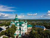 Trinity-Ilna Monastery of Chernihiv from the belfry — Stock Photo